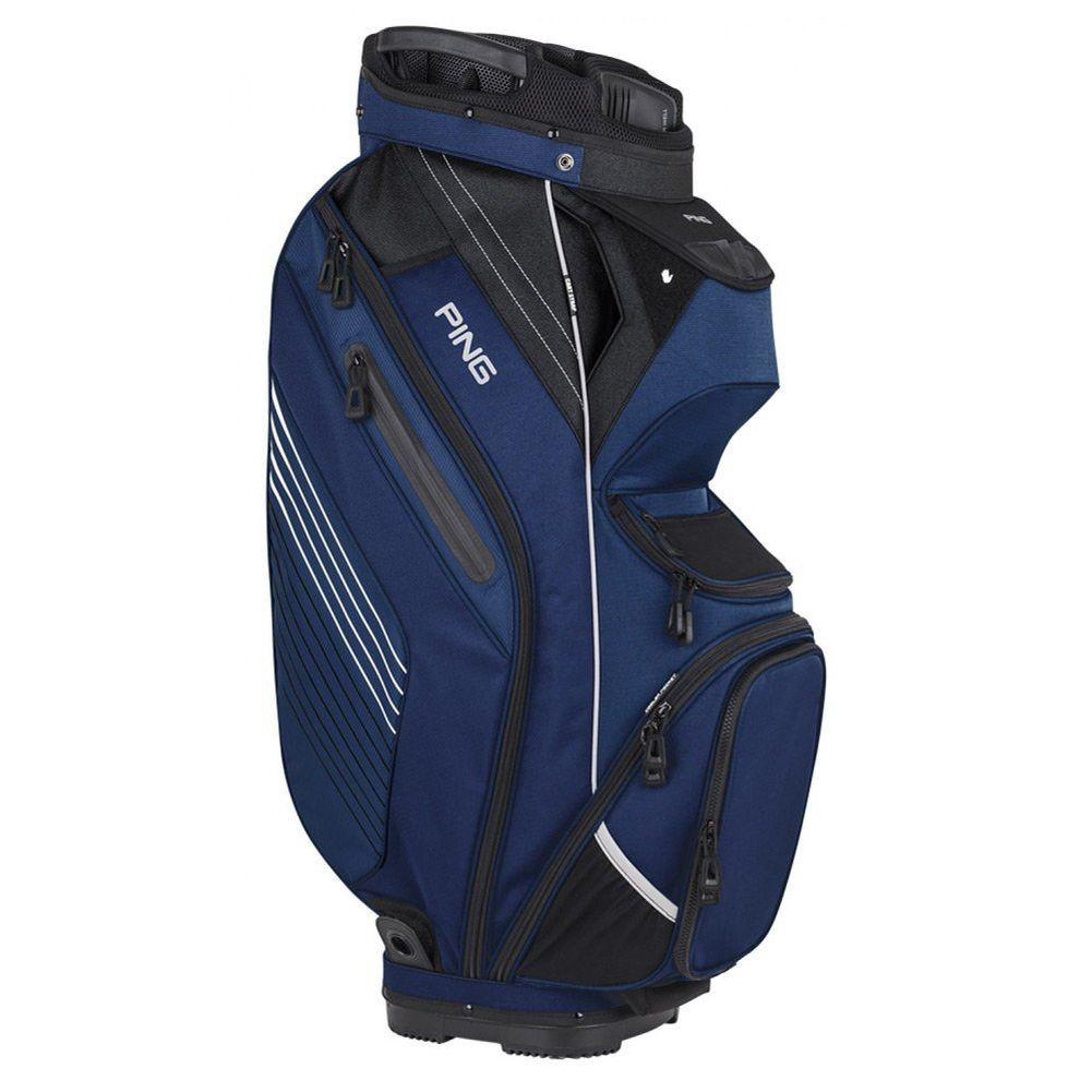 Ping Pioneer 2017 Cart Bag 14 Way Top Golf New Ebay