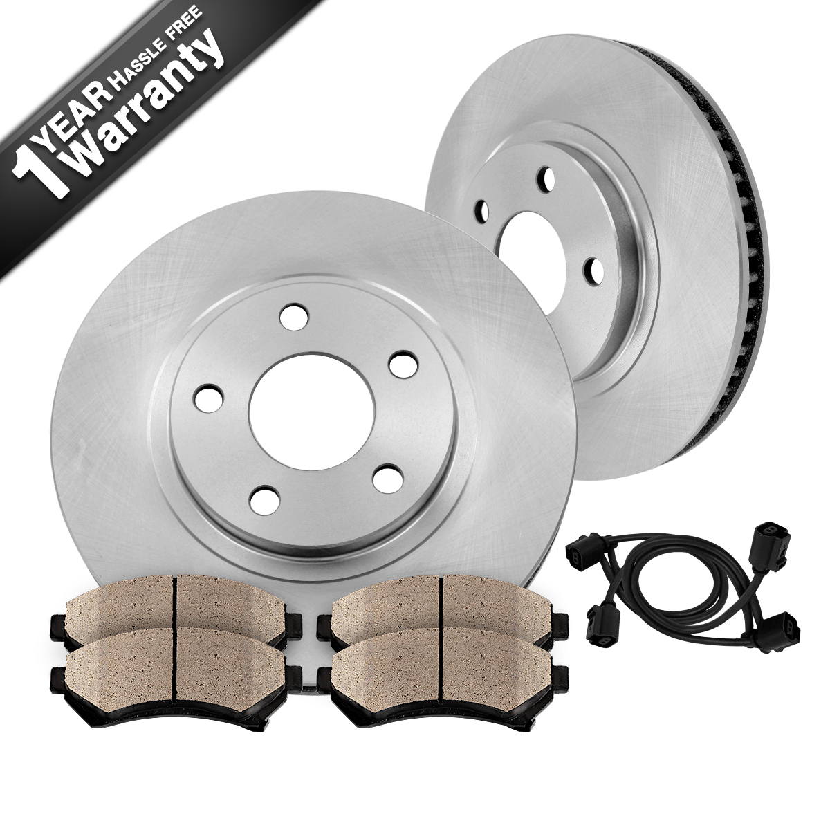 Purchase Front OE Brake Rotors And Ceramic Pads Kit BMW