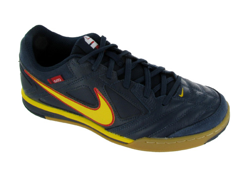 nike nike 5 gato leather indoor soccer shoes