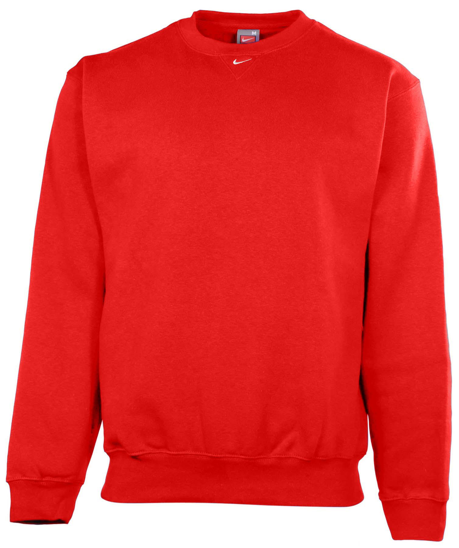 nike men 39 s team crew neck fleece pullover sweatshirt ebay. Black Bedroom Furniture Sets. Home Design Ideas