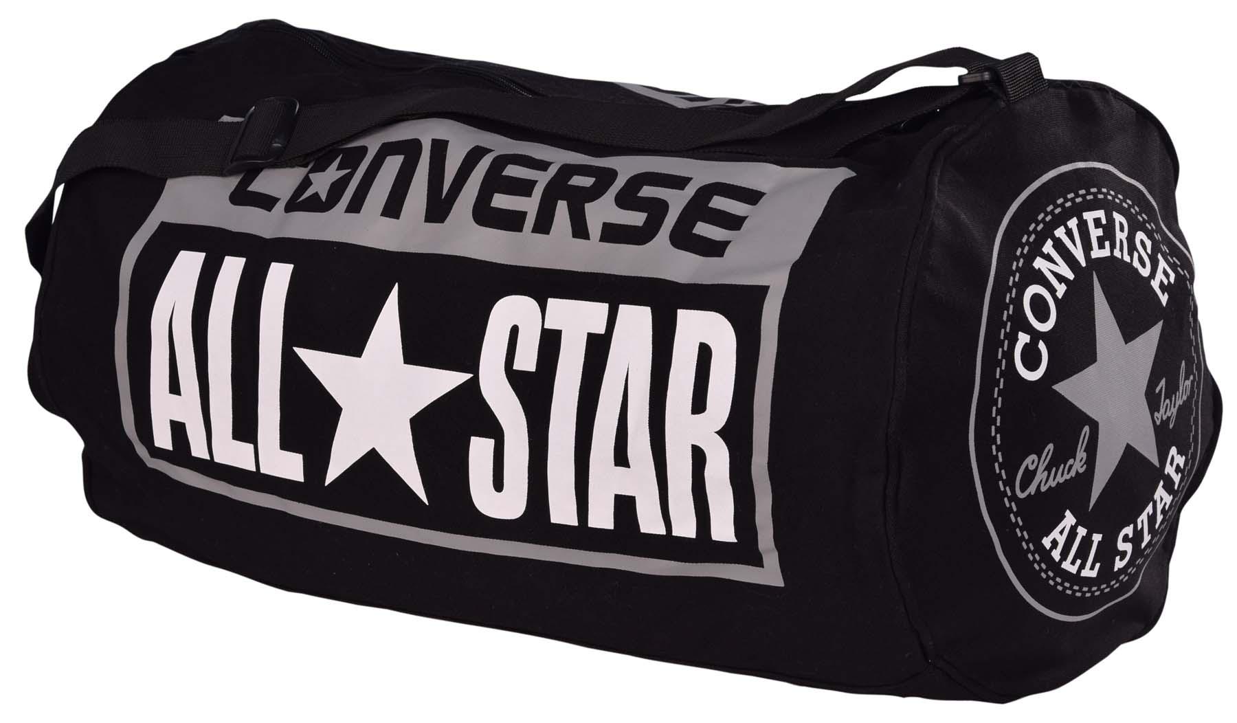 Converse-Legacy-All-Star-Patch-Duffle-Duffel-Bag-Black