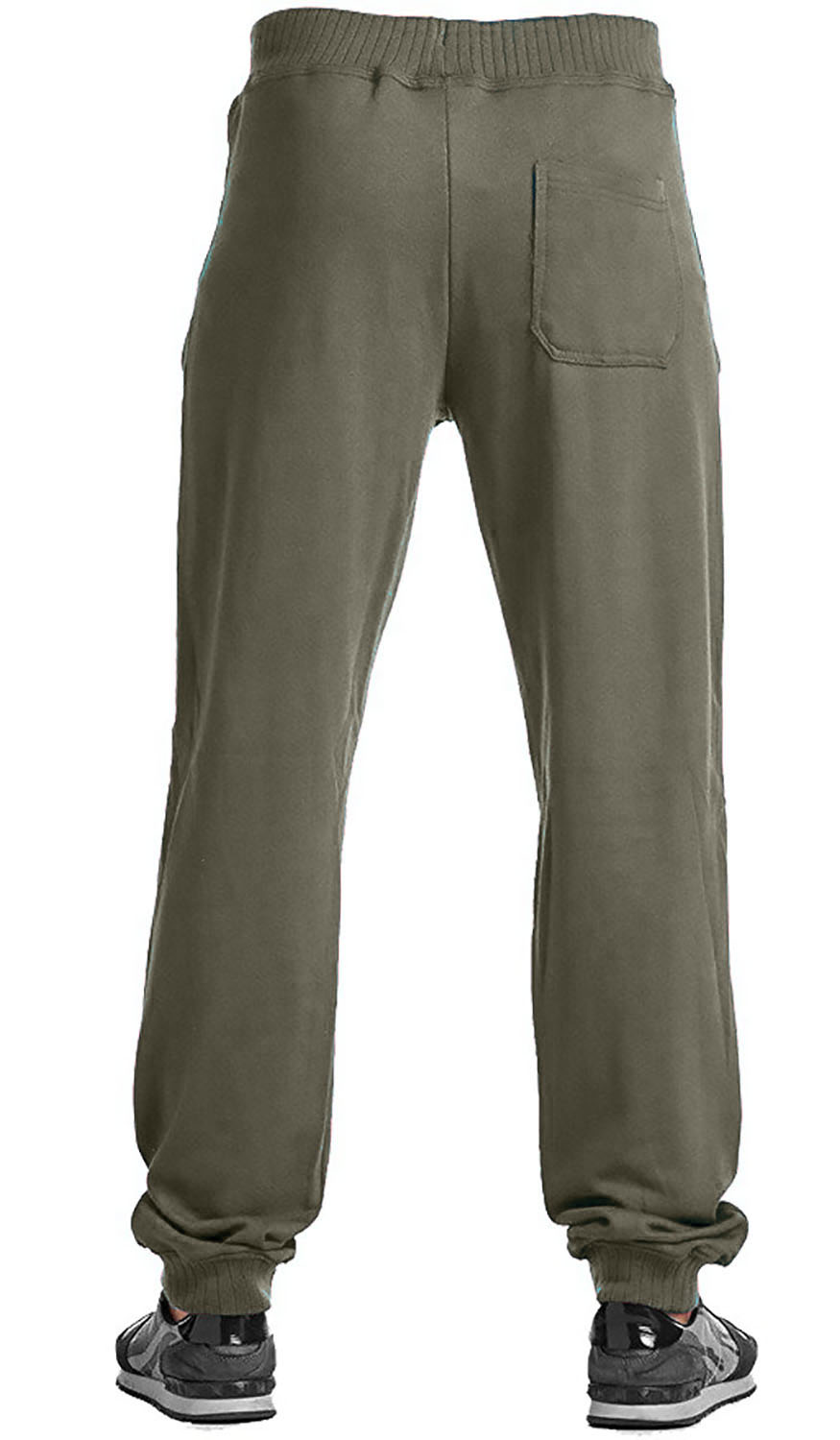 Adaptive style pants with two full length side zippers. Opens amply on both sides to assist in dressing/undressing and personal care. Zipper separates completely at ankles (like a jacket zipper).5/5.