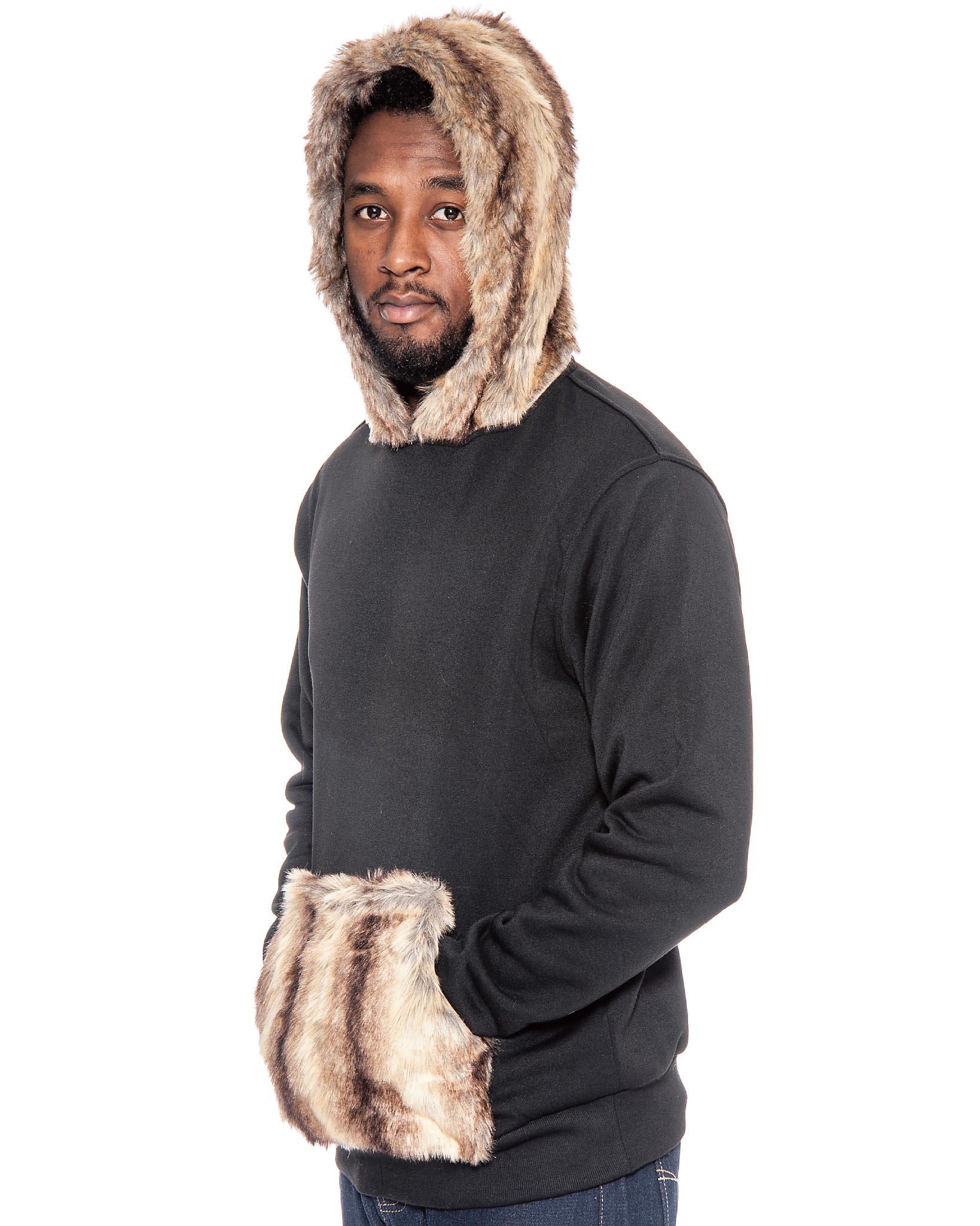 Style & Co. Faux-fur Top, Size M