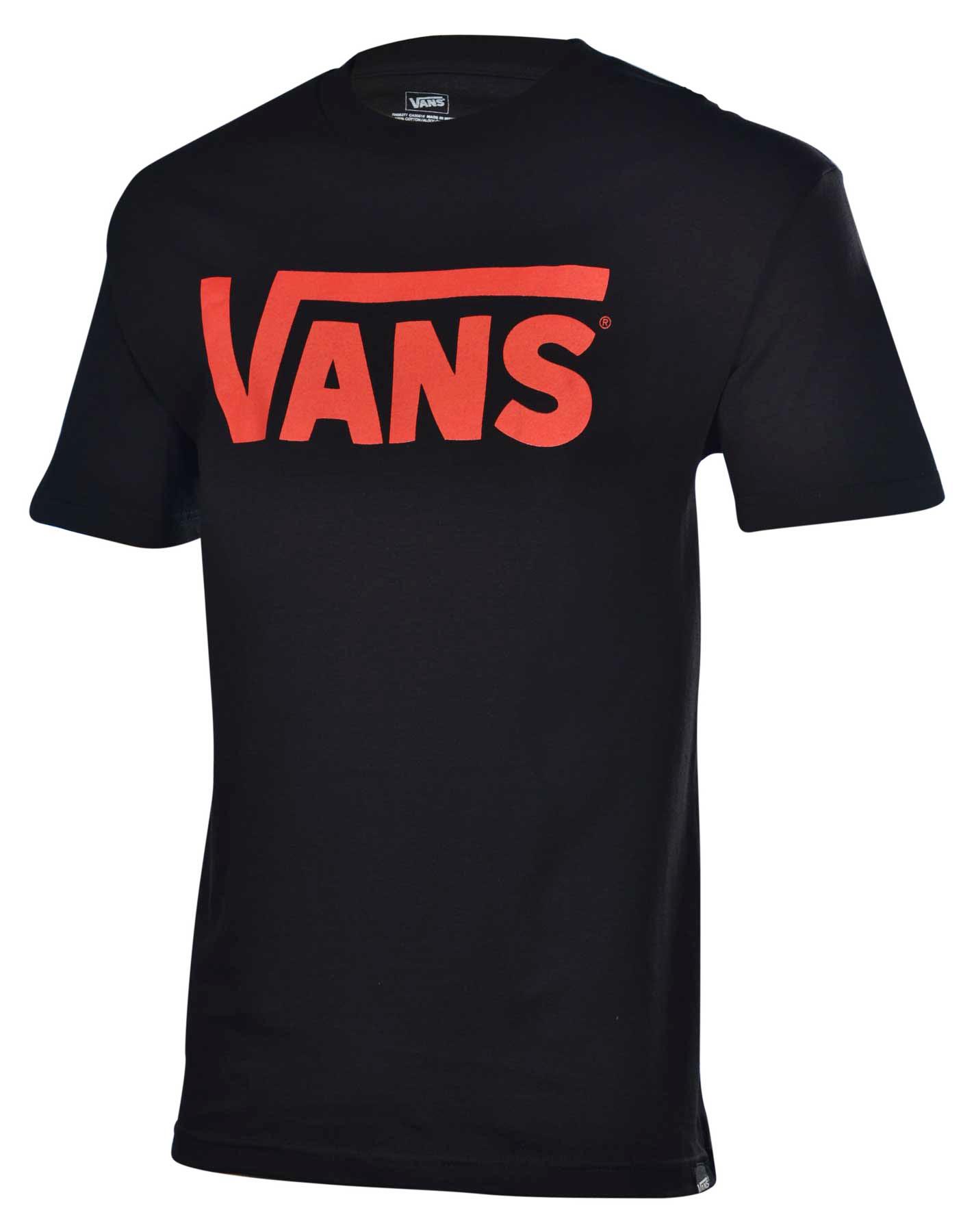 details about vans men 39 s classic logo skateboard shirt. Black Bedroom Furniture Sets. Home Design Ideas
