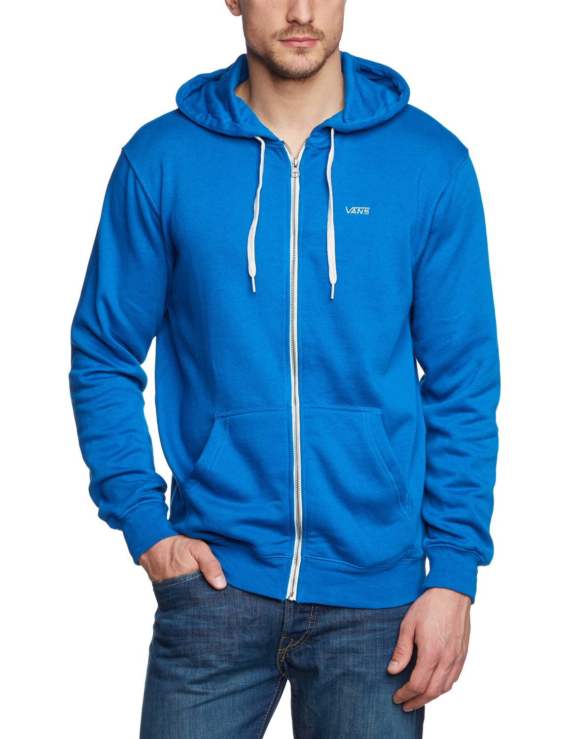 Vans Men's Core Basics Full Zip Skateboard Hoodie | eBay