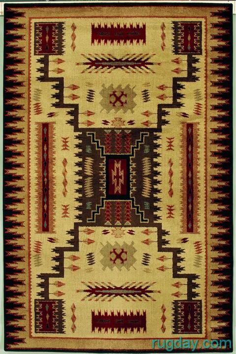 Southwestern Lodge Navajo Indian Design 4x6 Area Rug Ebay