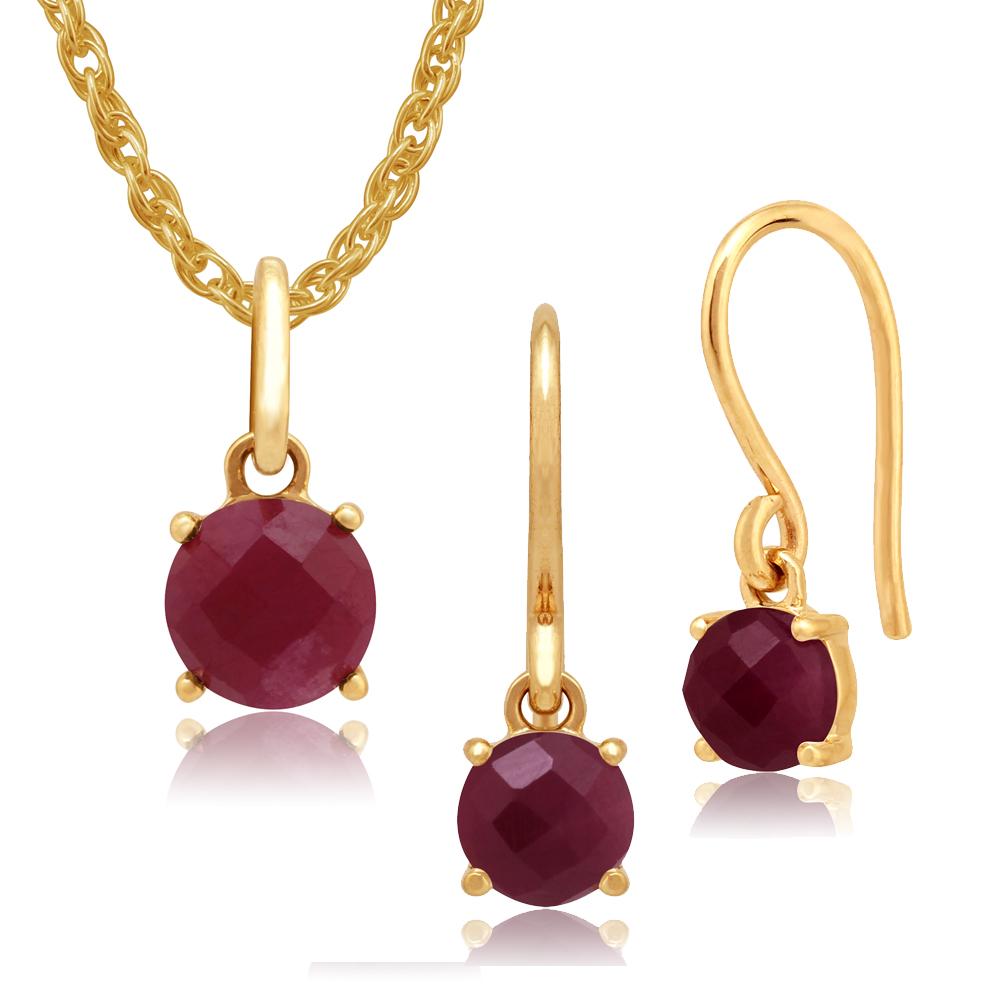 yellow gold ruby earrings shop for cheap womens