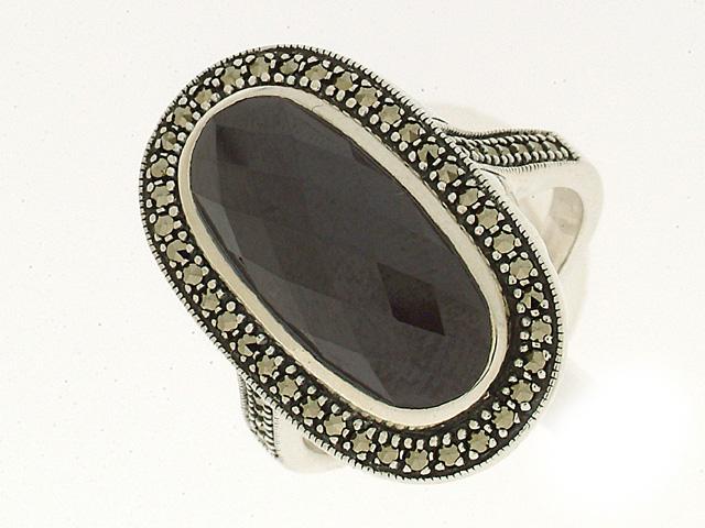 Silver Black Spinel
