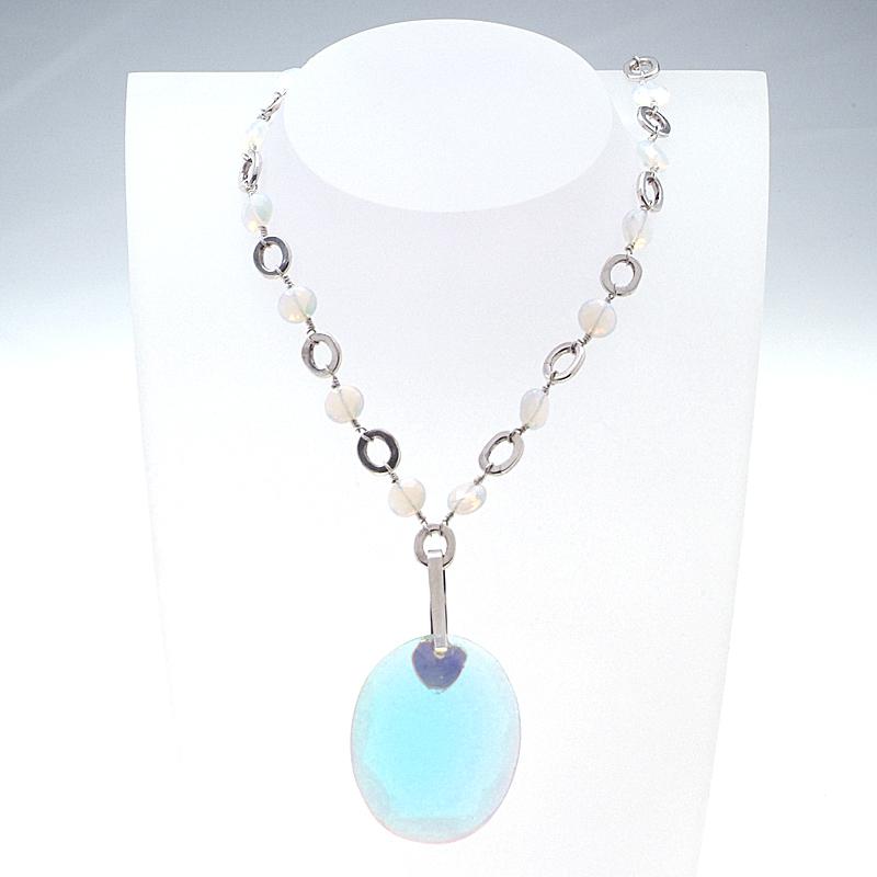 Otazu Silver Necklace