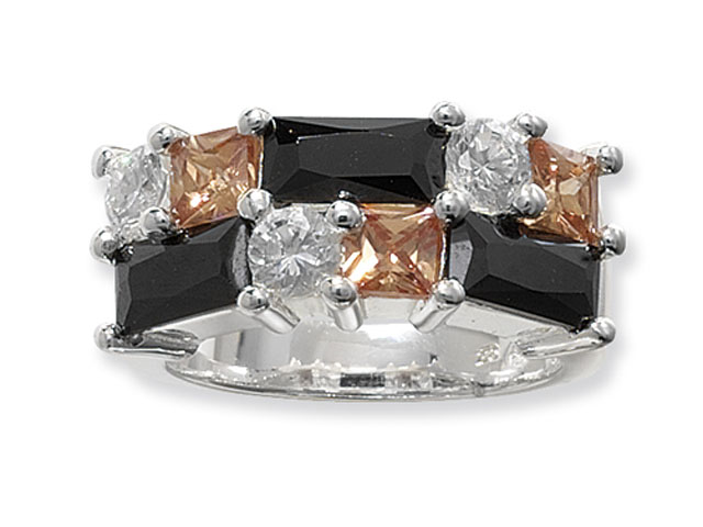 Esse Collection Silver Multi CZ Ring