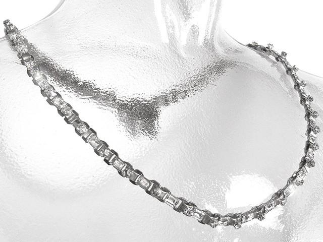 Otazu Tenderness Silvertone Crystal Necklace