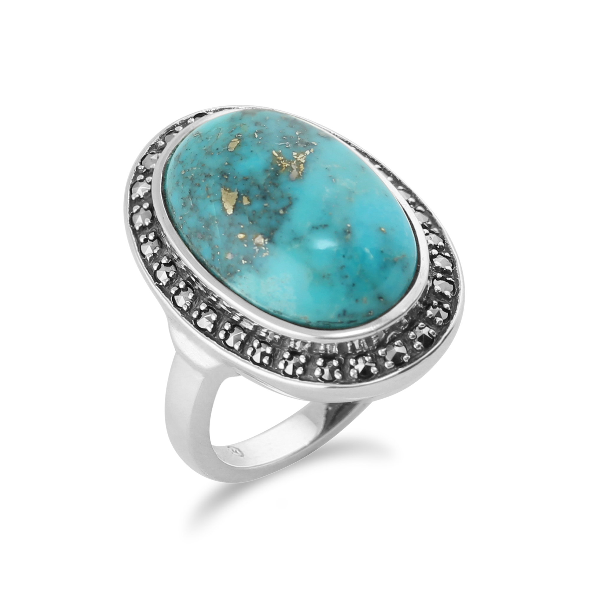 Natural Stone Diamond Ring