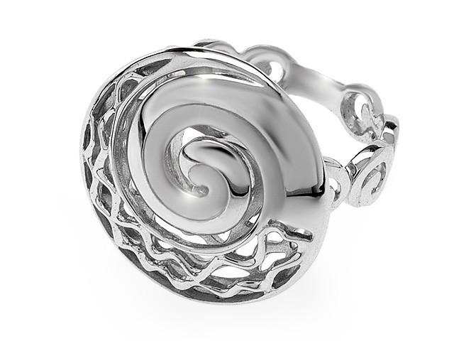 Zandra Rhodes Oriental Whisper Silver Ring