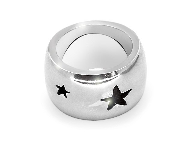 Otazu Sterling Silver Star Design Ring