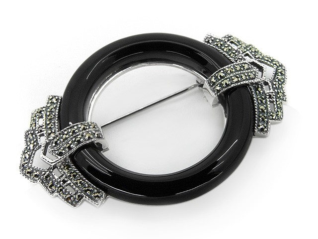 925 Silver Black Onyx
