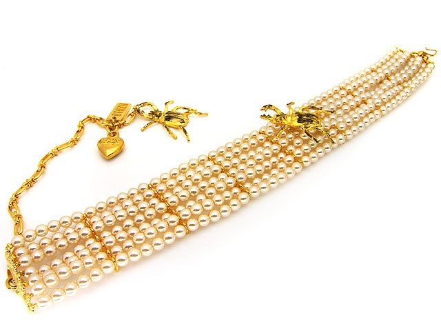 Otazu Gold Tone Cream Pearl