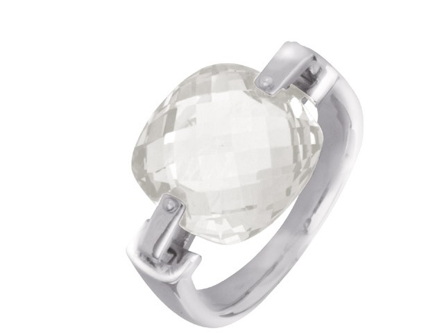 Cai Cubic Zirconia Silver Ring