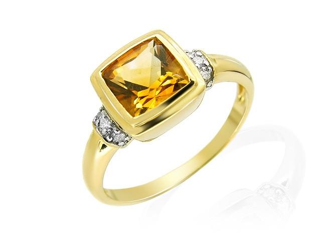9ct Yellow Gold Citrine