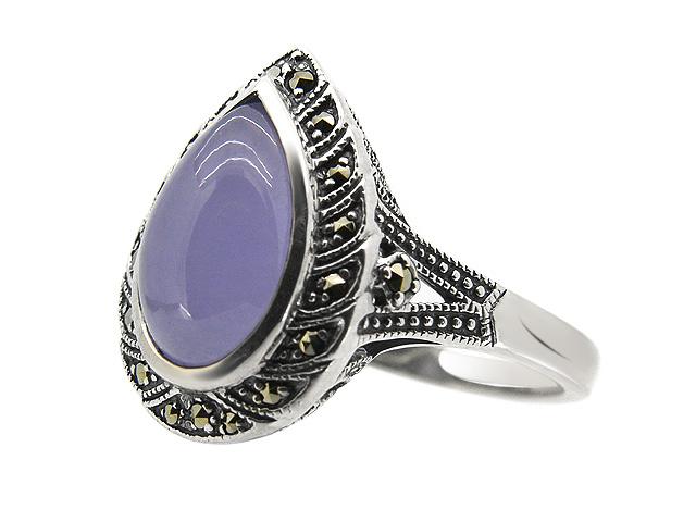 Silver Lavender Jade