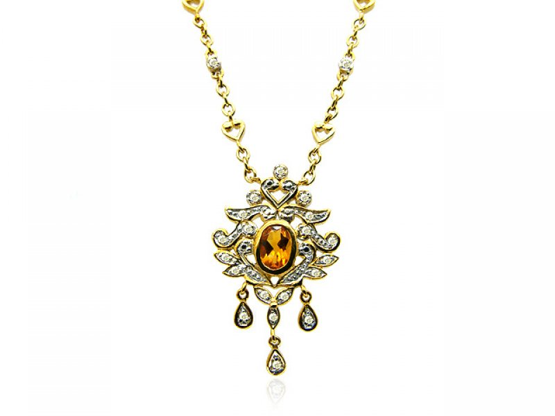 9ct Yellow Gold Citrine