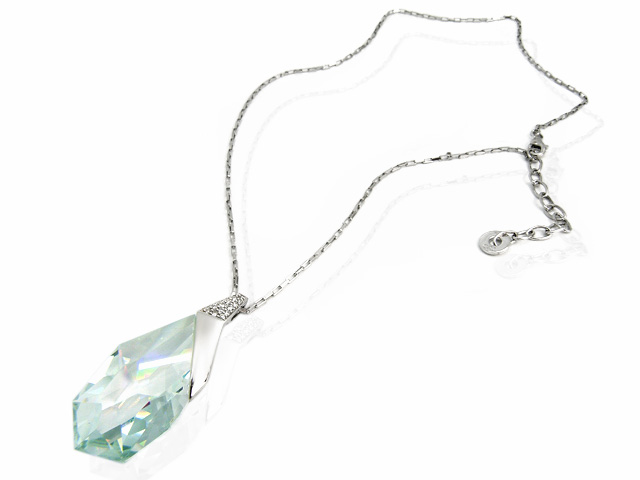 Cai Ice Blue CZ Drop Necklace