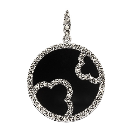925 Sterling Silver Marcasite