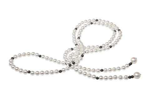 Mishca Jewels Long Freshwater Pearl 90cm Necklace
