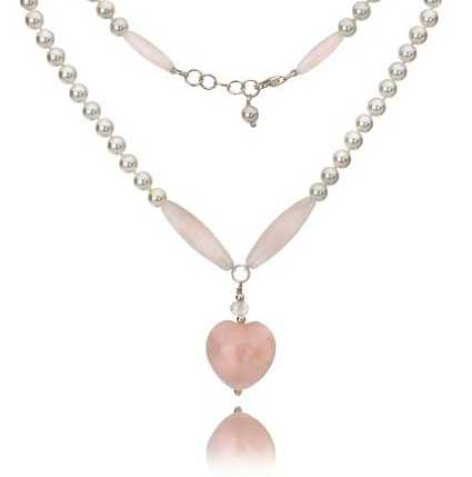 Mishca Jewels Rose Quartz