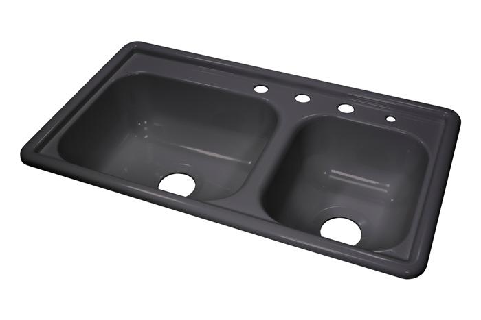 Lyons Dksr3 5 33 X19 Mobile Home Acrylic Kitchen Sink 4 Holes