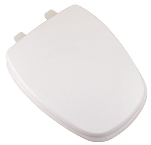 Comfort Seats C1B4E50 00 Eljer 18 Inch Square Front Elongated Toilet Seat Whi