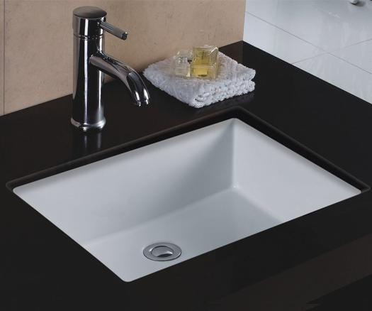 Wells Sinkware RTU2016-6W Rectangular Lavatory Sink Undermount White 20x16 at Sears.com
