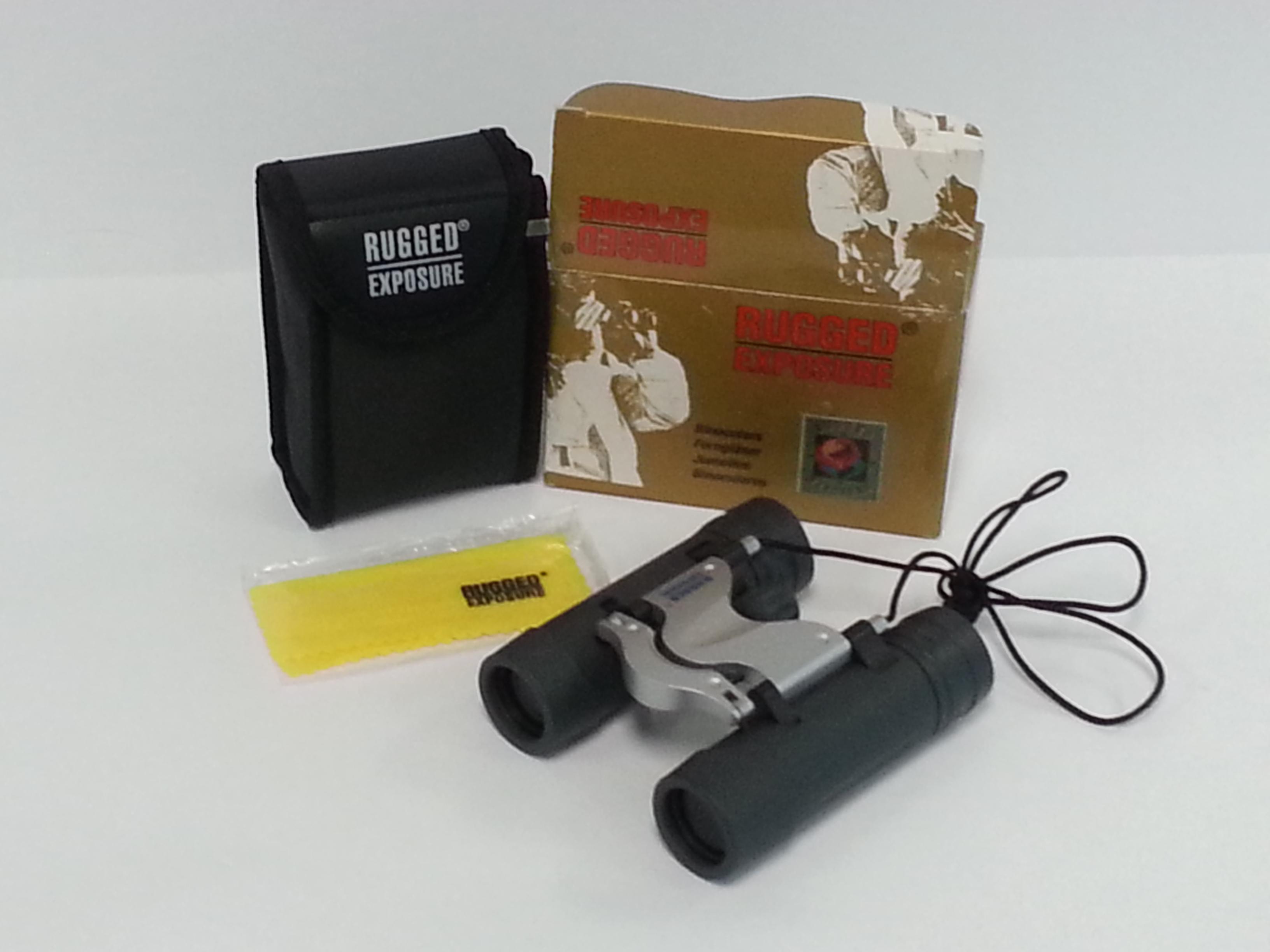12x25mm Rugged Exposure Compact Binocular