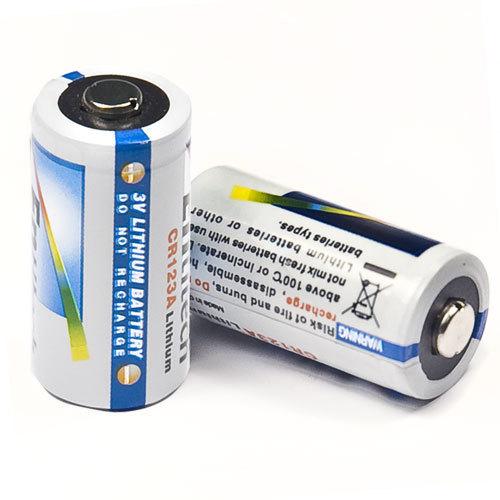 cr123a 3v lithium batteries 2 pieces set af11574 ebay. Black Bedroom Furniture Sets. Home Design Ideas