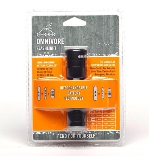 Gerber Omnivore Multi- Battery LED Flashlight 22-80124