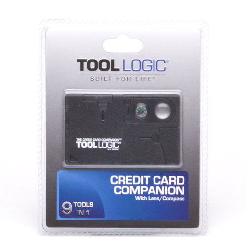 SOG Tool Logic Credit Card Companion with Lens/Compass - Black CC1SB at Sears.com
