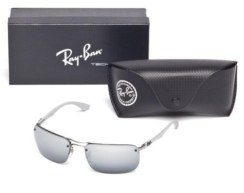 11312e3674 Ray Ban Shiny Gunmetal Polarized Tech 63mm RB8310 004 82 805289742920