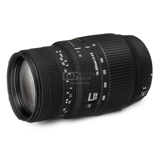 Sigma 70 300mm F4 56 DG Macro Telephoto Zoom Lens For Canon