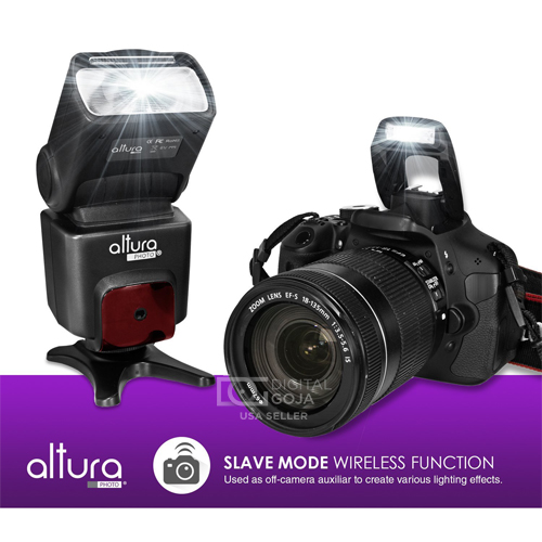 AlturaPhoto Nikon Flash