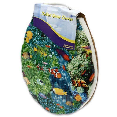 16L Assorted Plastic Fish Print Toilet Seat EBay