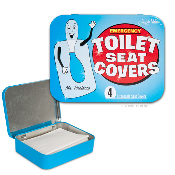 emergency toilet seat covers travel disposable new