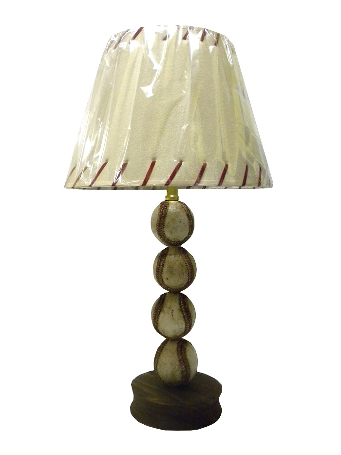 Baseball ball player sports theme table lamp accent desk light teen decor ebay - Table lamps for teens ...