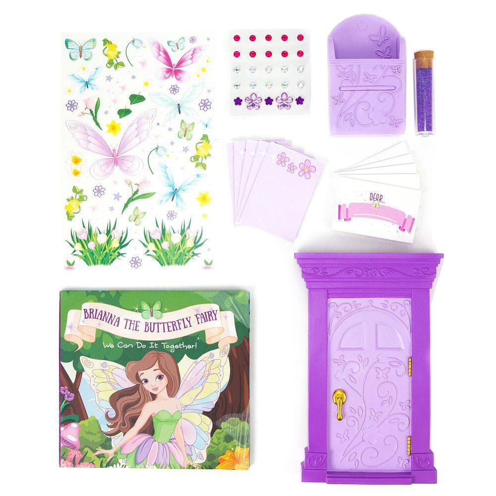 My fairy doorways woodland princess or butterfly fairy for Princess fairy door