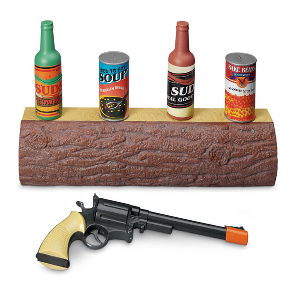 Game Toys To Practice : Old west shooting game kids target practice electronic