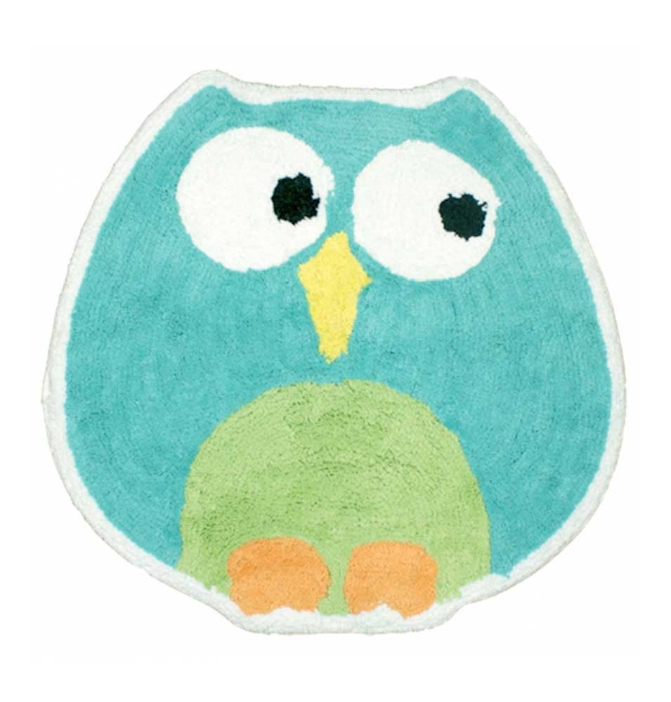 Hooty Hoot Owl Bathroom Collection Shower Curtain