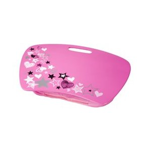 SUPER STAR pink Girl student LAP DESK portable AUTO Travel *CLEARANCE-SEE DETAIL eBay