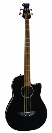 Ovation Ovation CC2474 Ac/El Bass Guitar in Black