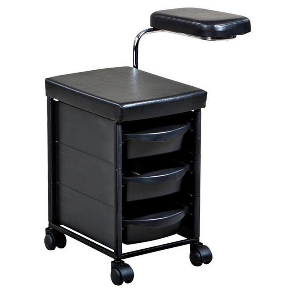 New nail care salon spa pedicure trolley cart pd 11 ebay for Salon trolley