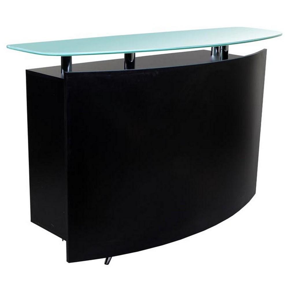 new black salon spa reception waiting desk rc 03b ebay