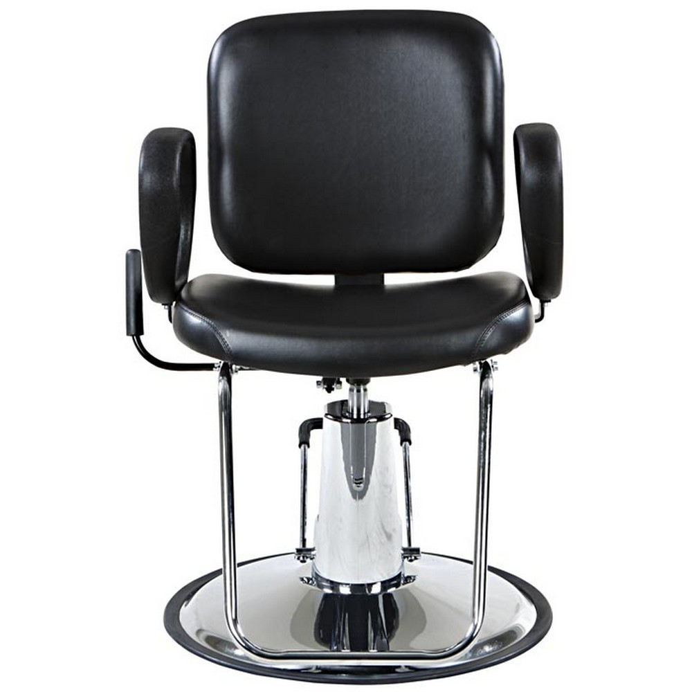 """lombard"" reclining salon styling chair, round base  ebay"