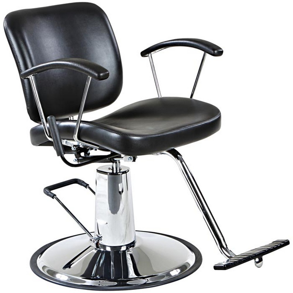 Sheridan Reclining Salon Styling Chair Round Base EBay